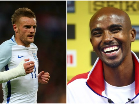 Arsenal fan Mo Farah excited by prospect of Jamie Vardy at Arsenal