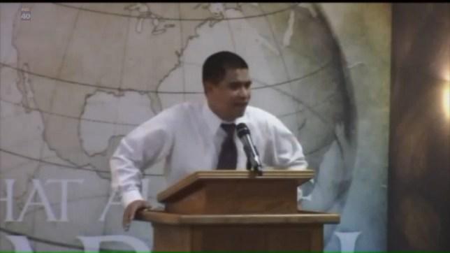 Christian pastor goes on vile rant over Orlando massacre Credit: Fox40