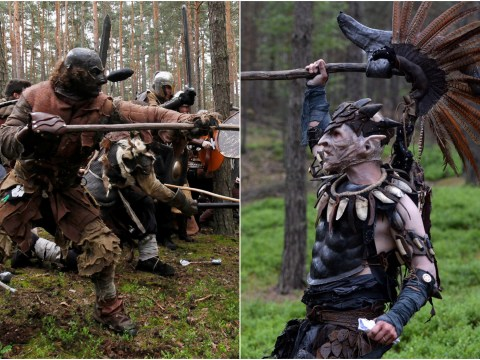 Very dedicated Hobbit fans recreated the Battle Of Five Armies