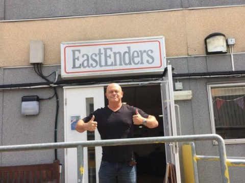 Ross Kemp says his final 'sad' goodbye to the EastEnders set as he leaves Grant Mitchell behind