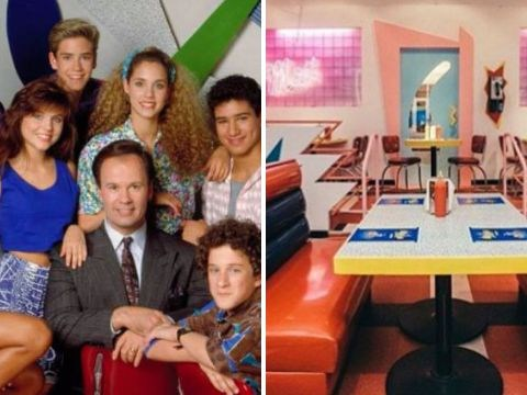 The Saved By The Bell diner is finally here and it looks exactly like The Max