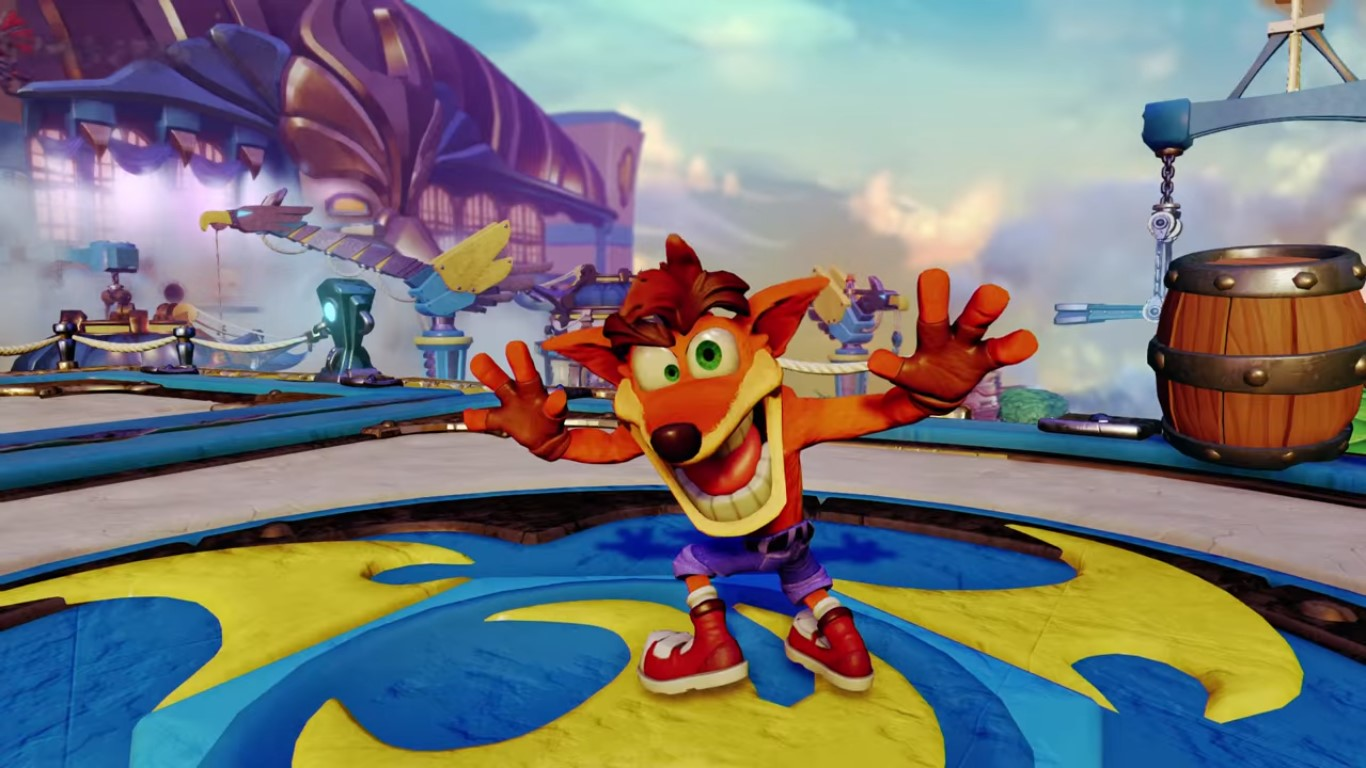 Skylanders Imaginators feat. Crash Bandicoot