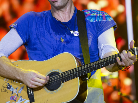 This is the WORST photo of Chris Martin. Ever.