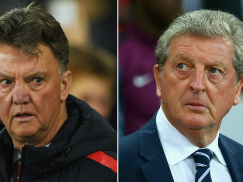 England fans certain Roy Hodgson is just ex-Manchester United manager Louis van Gaal with English accent