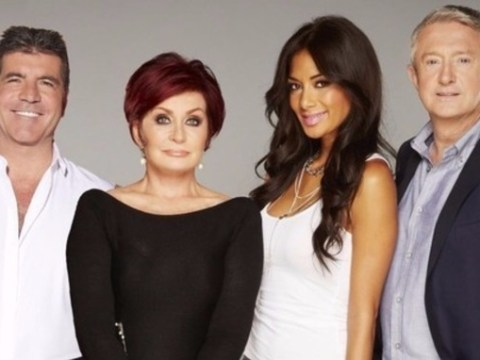 This picture of ITV's X Factor judging panel is not all that it seems
