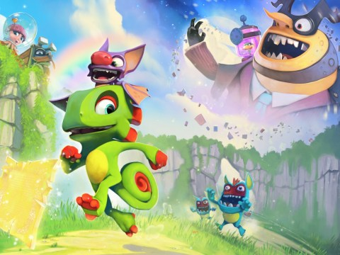 Yooka-Laylee review – Banjo-Threeie and a half