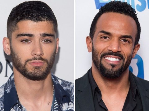 Craig David sends support to Zayn Malik after admitting his anxiety issues