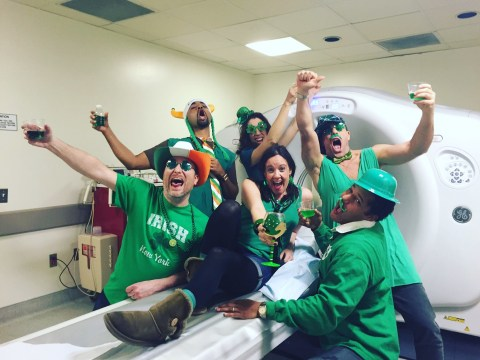 Woman with cancer turns chemotherapy treatments into hilarious photo ops