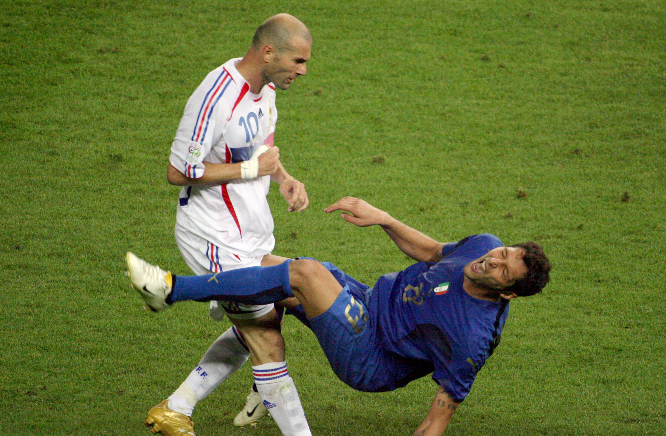 Revealed: Ten years on, what did Marco Materazzi say to Zinedine Zidane?