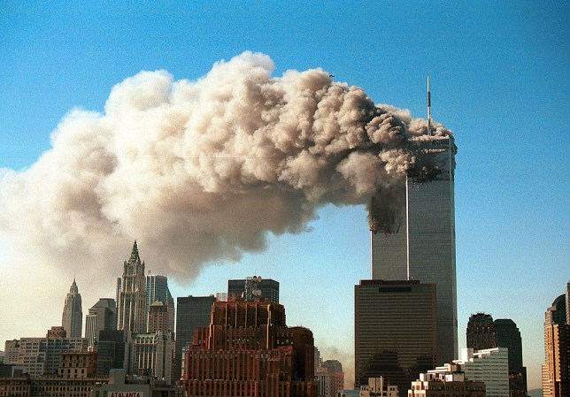 Hijackers drove planes into the Twin Towers in New York (Picture: Getty Images)