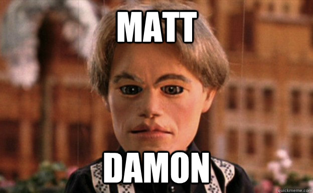 This is what Matt Damon thinks about his cameo in Team America: World Police