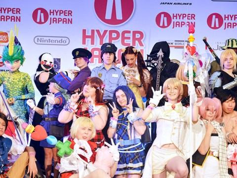 Win tickets for Hyper Japan Festival in 2016 in London with Nintendo