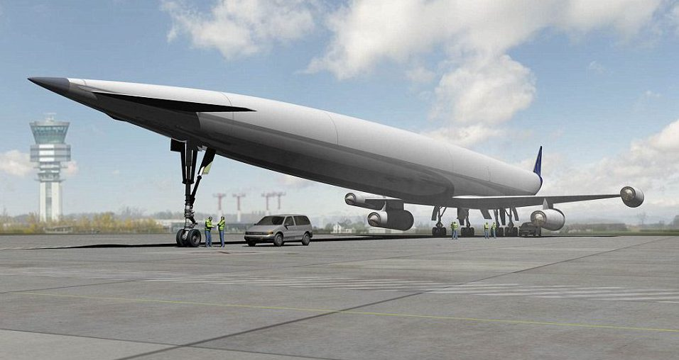 Plane could go from London to Sydney in four hours