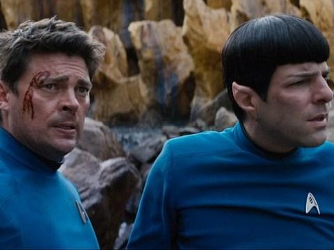 Star Trek Beyond clip sees Spock and Doctor 'Bones' McCoy in a spot of alien bother