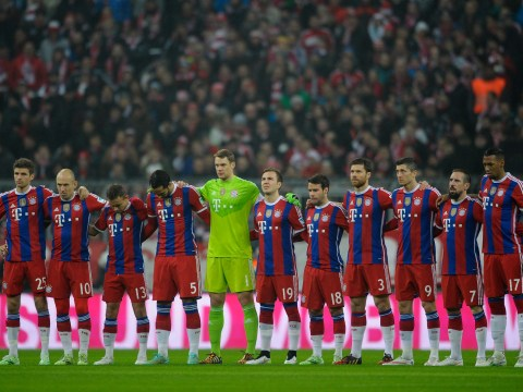 Bayern Munich post tribute to those affected in Munich shooting
