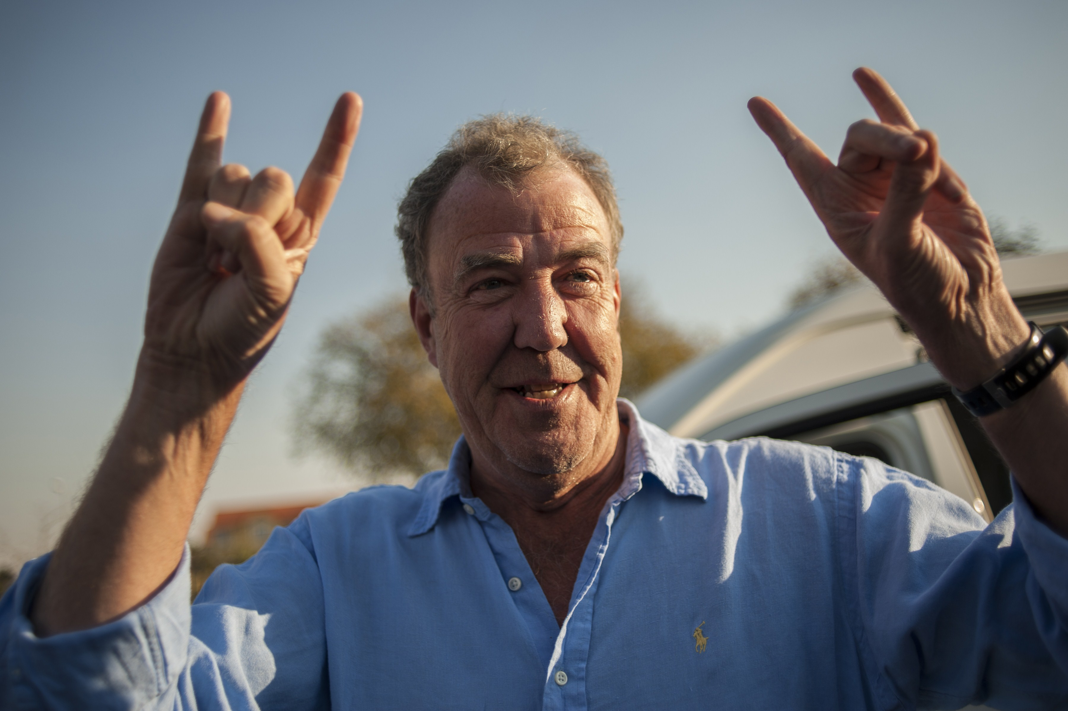 Jeremy Clarkson thinks he will 'be dead soon' (Picture: STEFAN HEUNIS/AFP/Getty Images)