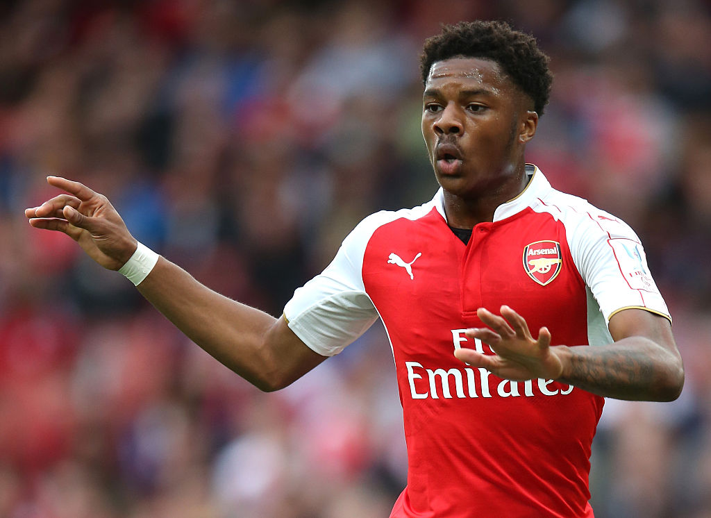 Chuba Akpom set to be Arsenal's only fit centre forward for start of Premier League season