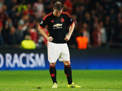 Bastian Schweinsteiger not in Manchester United squad for Galatasaray as doubt continues to surround his Old Trafford future