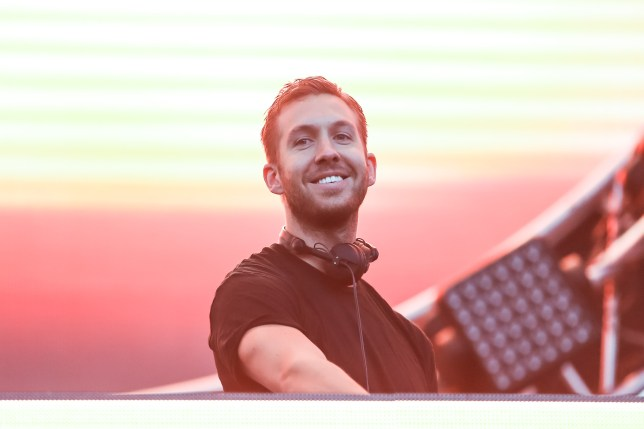 LOS ANGELES, CA - MAY 10: DJ Calvin Harris performs at 102.7 KIIS FM's Wango Tango at StubHub Center on May 10, 2014 in Los Angeles, California. (Photo by Chelsea Lauren/WireImage)