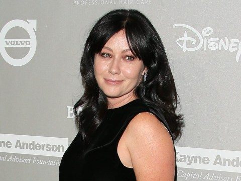 Shannen Doherty 'staying positive' as new test results come back after breast cancer goes into remission