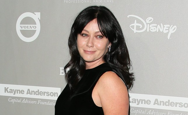 CULVER CITY, CA - NOVEMBER 14: Shannen Doherty attends the 2015 Baby2Baby Gala presented by MarulaOil & Kayne Capital Advisors Foundation honoring Kerry Washington at 3LABS on November 14, 2015 in Culver City, California. (Photo by JB Lacroix/WireImage)