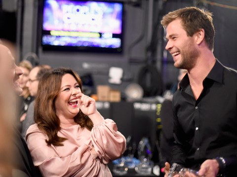 Chris Hemsworth just paid tribute to the 'strongest woman in the world' Melissa McCarthy on Instagram