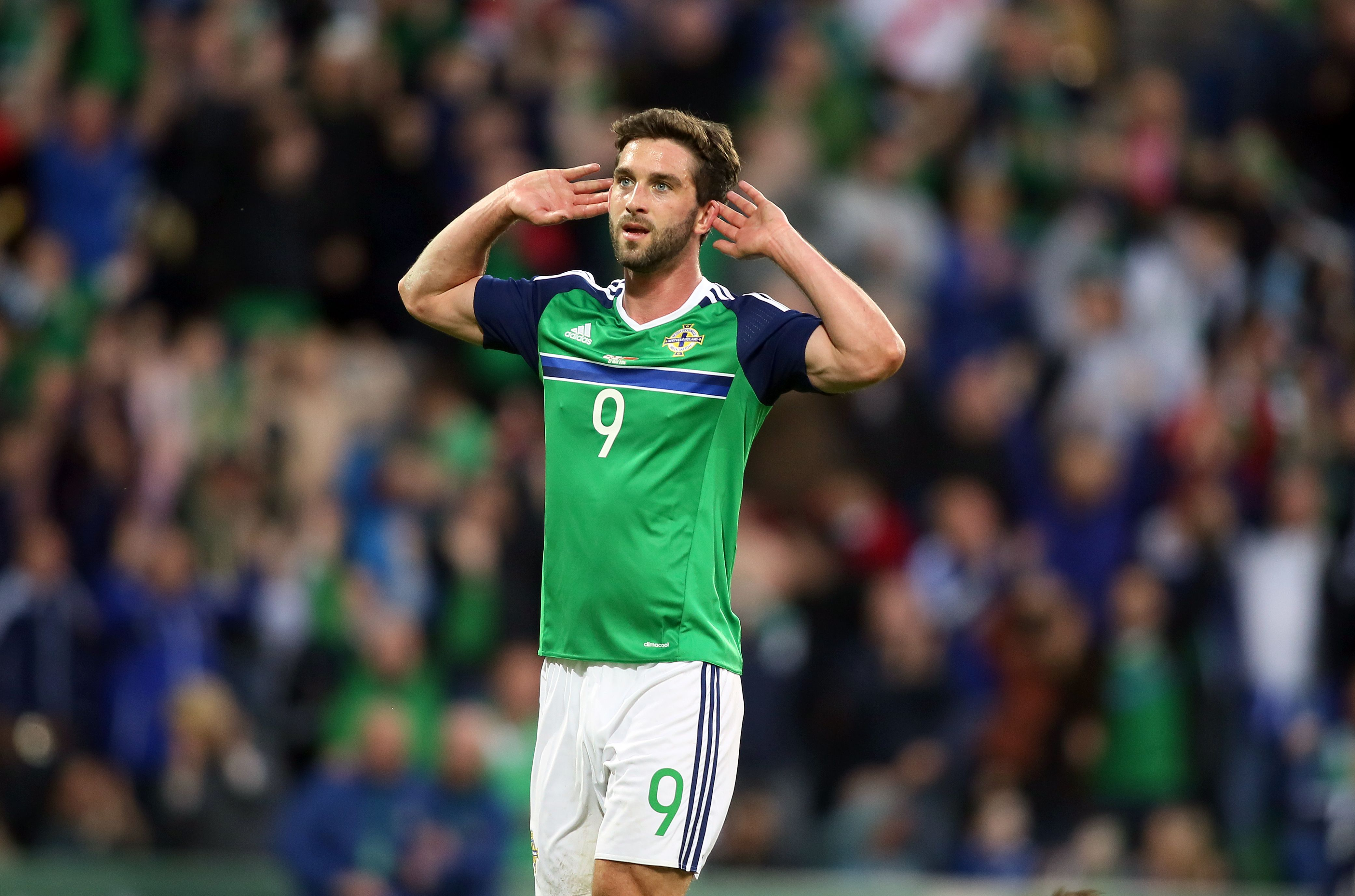 Will Grigg received as many nominations as Paul Pogba for Uefa award