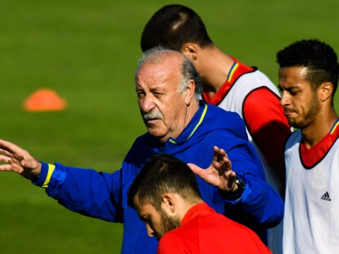 Vicente del Bosque reveals the one Spanish player he DIDN'T say goodbye to