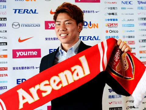 Takuma Asano needed convincing before he decided to join Arsenal