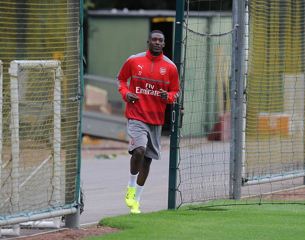 Arsenal fans go into meltdown as Yaya Sanogo returns to first team training
