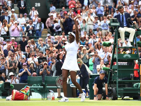 Venus Williams becomes oldest Wimbledon semi-finalist for 22 years