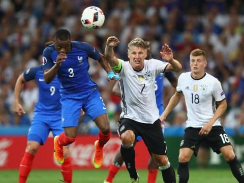Was it a penalty? Bastian Schweinsteiger handball gifts France the lead in Euro 2016 semi-final