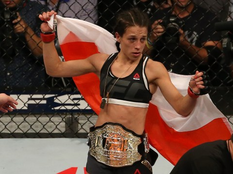Reigning strawweight champion Joanna Jedrzejczyk wants to be a history maker in the UFC