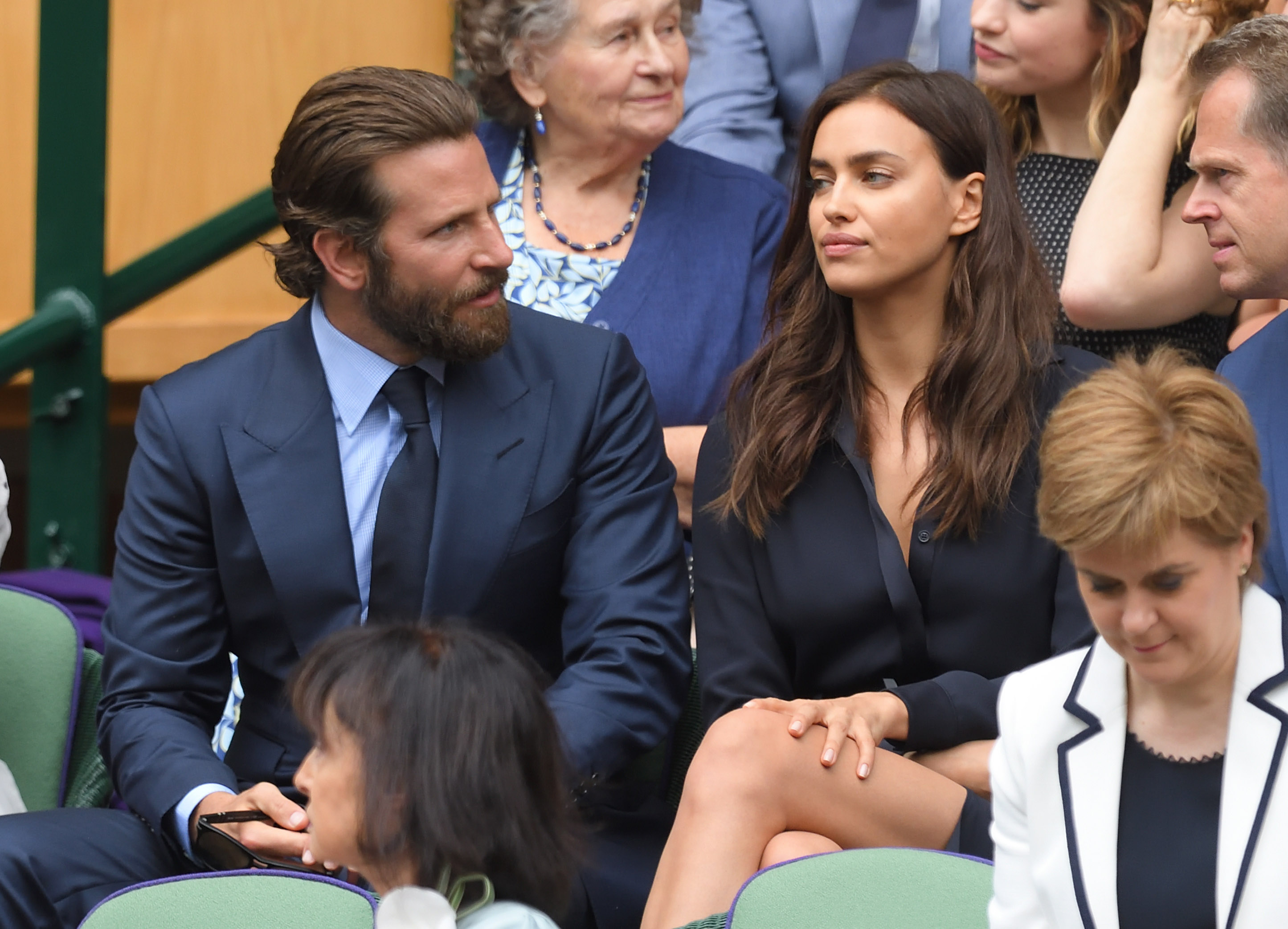 This is why Irina Shayk was 'teary' at Wimbledon with Bradley Cooper