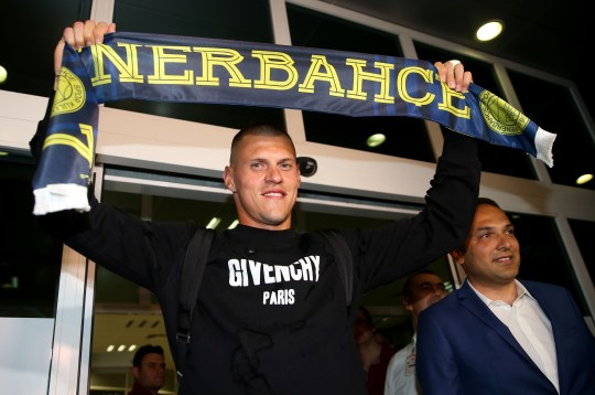 ISTANBUL, TURKEY - JULY 12: Liverpool defender Martin Skrtel is seen during his arrival at the Istanbul Ataturk Airport on July 12, 2016, to agree terms with Turkey's Fenerbahce. (Photo by Berk Ozkan/Anadolu Agency/Getty Images)
