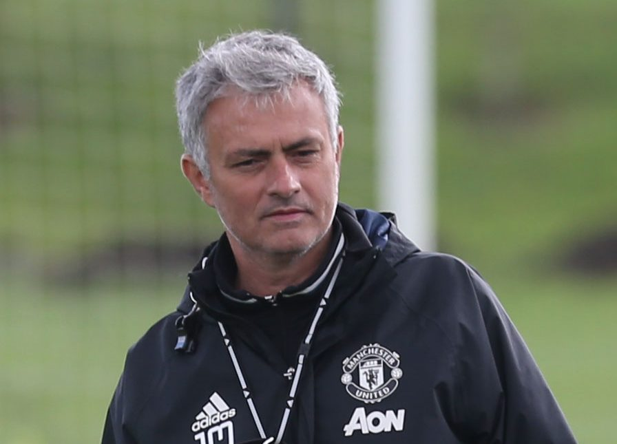 Jose Mourinho's double booked himself on day of first Manchester United match