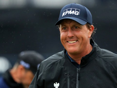 British Open leader Phil Mickelson rolls back the years and promises the best is yet to come
