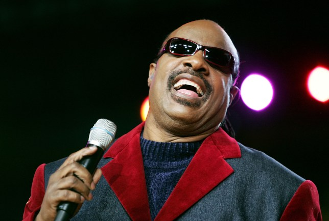 DETROIT - FEBRUARY 5: Musician Stevie Wonder performs prior to the start of Super Bowl XL between the Seattle Seahawks and the Pittsburgh Steelers at Ford Field on February 5, 2006 in Detroit, Michigan. (Photo by Harry How/Getty Images)