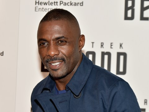 Idris Elba goes topless as he shares sweaty post-workout photo ahead of first boxing match