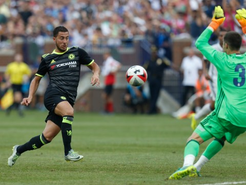 Chelsea's Eden Hazard lays down marker for new season with 25 excellent minutes against Real Madrid