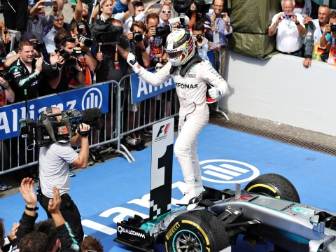 Lewis Hamilton takes advantage as Nico Rosberg suffers nightmare at home Grand Prix