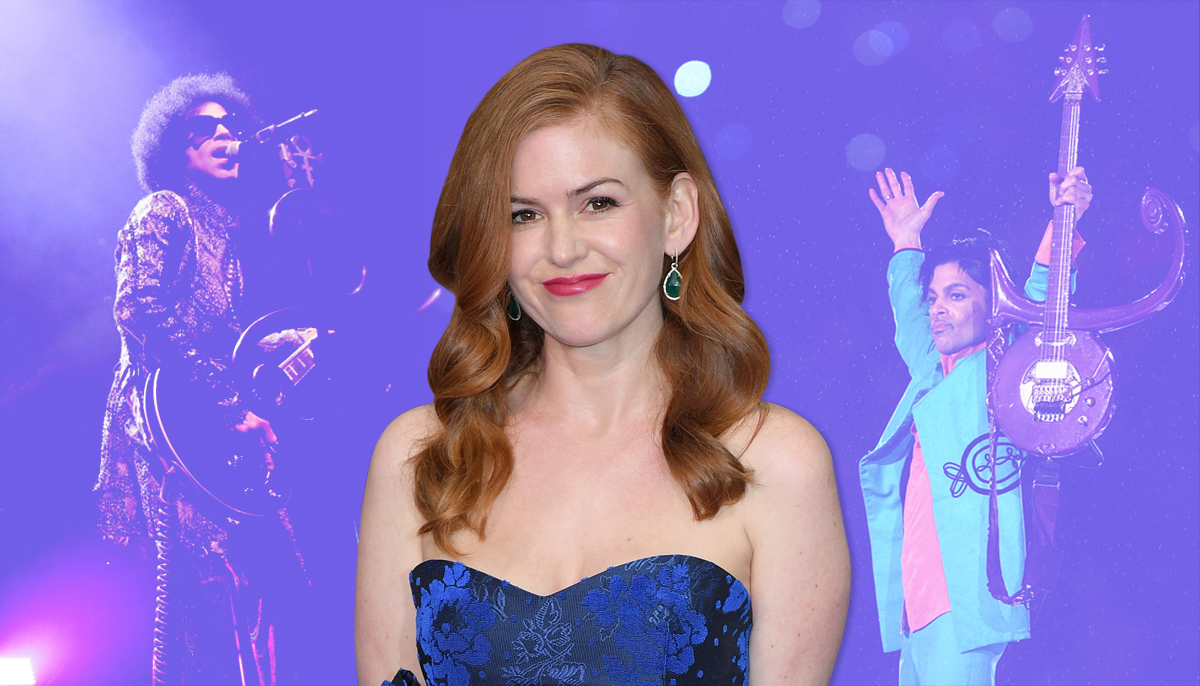 Isla Fisher REALLY wants to play Prince in a biopic