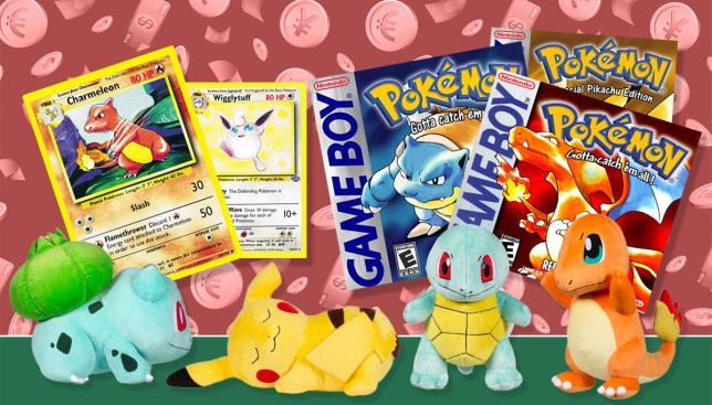Pokémon cards, toys and games: How much are they now worth