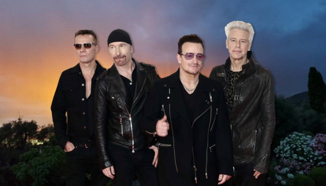 U2 posted eerie 'storm over France' pic hours before terror attack and people are using it to pay tribute Credit: Instagram/REX