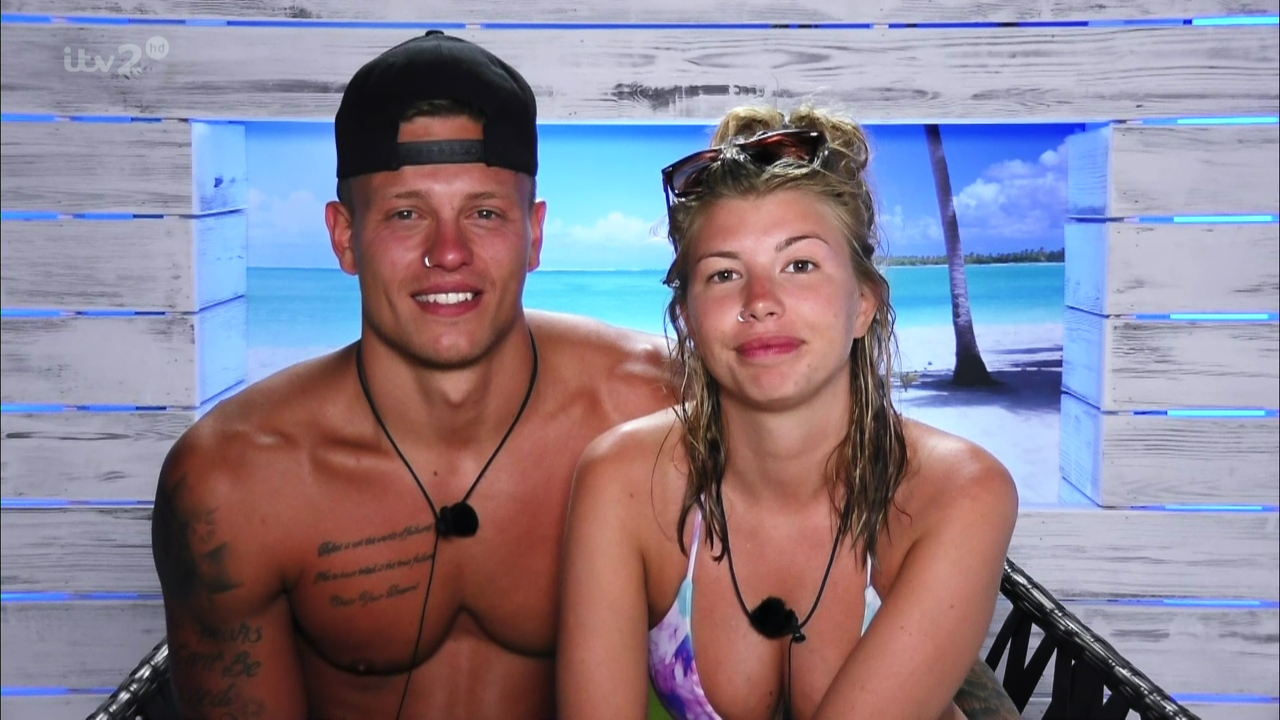 Islanders take part in a game of 'Boaty McBoatrace' on 'Love Island'. Broadcast on ITV2HD Featuring: Olivia Buckland, Alex Bowen When: 05 Jul 2016 Credit: Supplied by WENN **WENN does not claim any ownership including but not limited to Copyright, License in attached material. Fees charged by WENN are for WENN's services only, do not, nor are they intended to, convey to the user any ownership of Copyright, License in material. By publishing this material you expressly agree to indemnify, to hold WENN, its directors, shareholders, employees harmless from any loss, claims, damages, demands, expenses (including legal fees), any causes of action, allegation against WENN arising out of, connected in any way with publication of the material.**