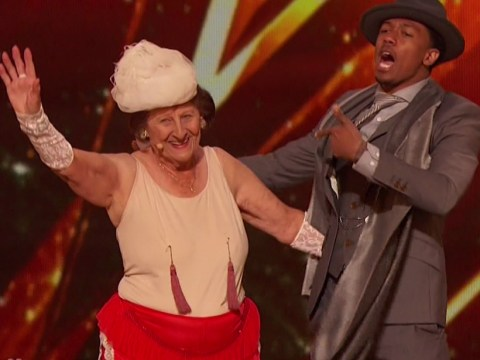 A 90-year-old performed a striptease act on America's Got Talent – and won a Golden Buzzer