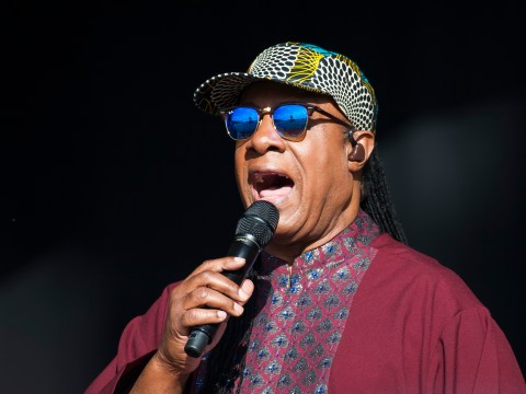 Stevie Wonder claims black lives matter because 'we've all got a bit of black in us'