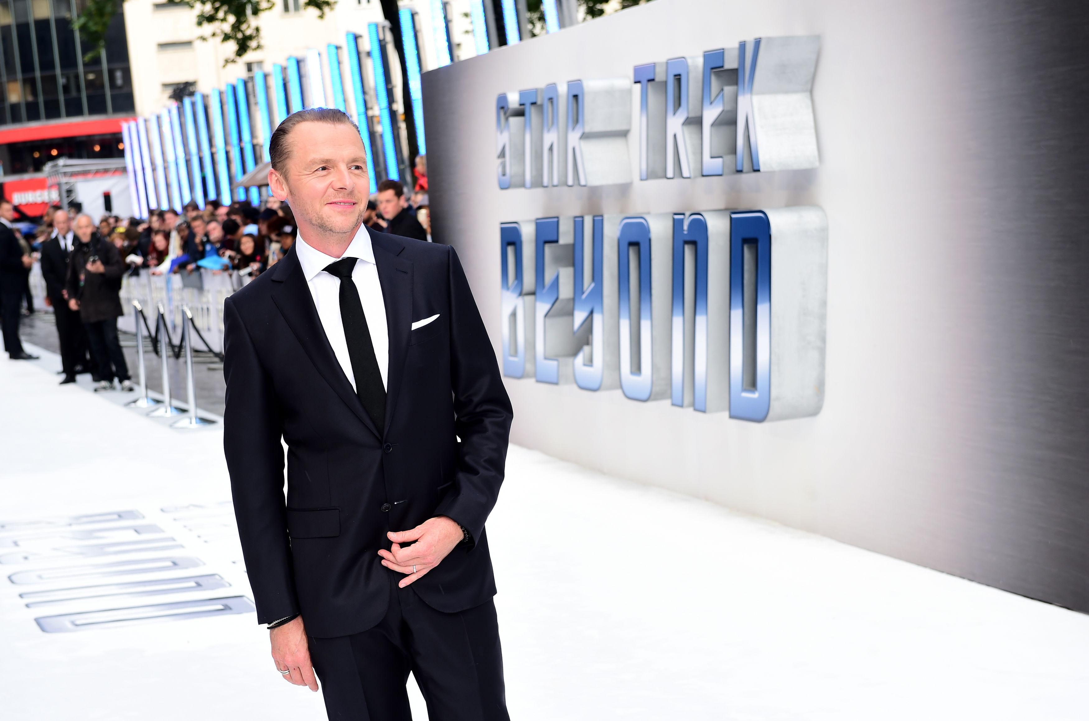 Star Trek Beyond actor Simon Pegg has this piece of leadership advice for Theresa May