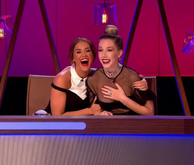 Vicky Pattison and Katherine Ryan on panel game show 'It's Not Me, It's You'. Broadcast on Channel 5 HD. Featuring: Vicky Pattison, Katherine Ryan Where: United Kingdom When: 23 Jun 2016 Credit: Supplied by WENN **WENN does not claim any ownership including but not limited to Copyright, License in attached material. Fees charged by WENN are for WENN's services only, do not, nor are they intended to, convey to the user any ownership of Copyright, License in material. By publishing this material you expressly agree to indemnify, to hold WENN, its directors, shareholders, employees harmless from any loss, claims, damages, demands, expenses (including legal fees), any causes of action, allegation against WENN arising out of, connected in any way with publication of the material.**