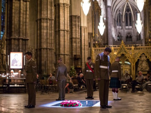 Two minute silence marks Battle of the Somme centenary